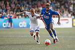 Leicester City vs Eastern during the Main tournament of the HKFC Citi Soccer Sevens on 22 May 2016 in the Hong Kong Footbal Club, Hong Kong, China. Photo by Li Man Yuen / Power Sport Images