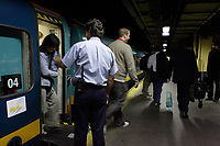 Montreal (Qc) CANADA - October 2nd, 2007..VIA Rail Canada. customer service at Central Station in Montreal, Quebec...photo : (c) 2007, Pierre Roussel - Licensed for editorial use ONLY related to Via Rail topics, ..MANDATORY PHOTO CREDIT : photo : (c) 2007, Pierre Roussel
