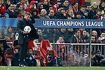 Atletico de Madrid's coach Diego Pablo Cholo Simeone during Champions League 2014/2015 match.March 16,2015. (ALTERPHOTOS/Acero)
