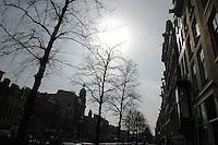 AMSTERDAM-HOLANDA- 22-04-2006. Vista en el centro de Amsterdam./ Street view of Amsterdam Photo: VizzorImage /STR