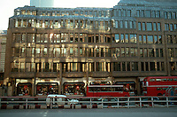 London:  New Buildings on South side of Liverpool St.  Opposite Broadgate Development--very nicely done.  Photo Jan. '90.