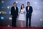 Jessica Jung, and Pakho Chau on the Red Carpet event at the World Celebrity Pro-Am 2016 Mission Hills China Golf Tournament on 20 October 2016, in Haikou, China. Photo by Marcio Machado / Power Sport Images