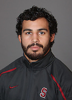 STANFORD, CA - OCTOBER 7:  Lucas Espericueta of the Stanford Cardinal during wrestling picture day on October 7, 2009 in Stanford, California.