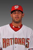 14 March 2008: ..Portrait of Jhonny Nunez, Washington Nationals Minor League player at Spring Training Camp 2008..Mandatory Photo Credit: Ed Wolfstein Photo