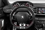 Car pictures of steering wheel view of a 2015 Peugeot 308 GT 5 Door Hatchback Steering Wheel