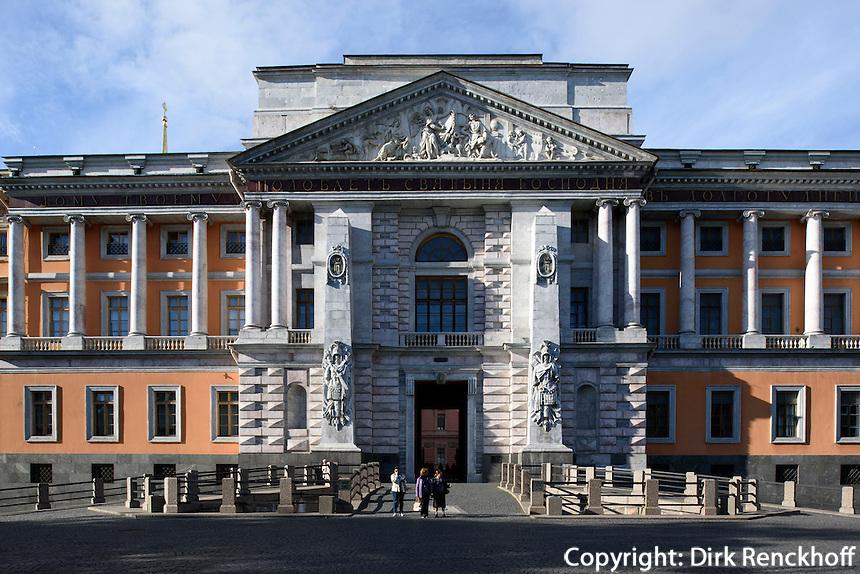 Michaelsschloss in St. Petersburg, Russland, UNESCO-Weltkulturerbe