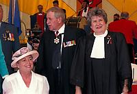 Lise Thibault<br /> , Roger D Landry, Fete du Canada 1997<br /> <br /> <br /> PHOTO : Agence Quebec Presse