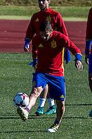 Spainsh Koke Resurreccion during the training of the spanish national football team in the city of football of Las Rozas in Madrid, Spain. November 10, 2016. (ALTERPHOTOS/Rodrigo Jimenez) ///NORTEPHOTO.COM
