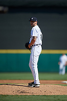Detroit Tigers pitcher Alex Lange (81) during a Florida Instructional League intrasquad game on October 17, 2020 at Joker Marchant Stadium in Lakeland, Florida.  (Mike Janes/Four Seam Images)