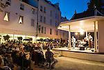 United Kingdom, England, Kent, Tunbridge Wells: Evening Jazz concert at The Pantiles