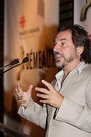 Montreal (QC) CANADA, August 28, 2007-<br /> CHRISTIAN BEGIN, ANIMATEUR DE L'AVANT-PREMIÈRE<br /> DES 22es PRIX GÈMEAUX, PRÈSENTÈE SUR LES ONDES DE TÈLÈ-QUÈBEC<br /> Conference de presse  pour les finalistes au prix gemeaux<br /> <br /> photo : (c) images Distribution