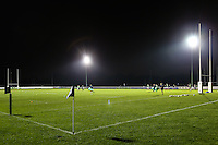 General view of Richmond Athletic Ground, home of London Scottish Rugby Football Club, ahead of the Greene King IPA Championship match between London Scottish Football Club and Nottingham Rugby at Richmond Athletic Ground, Richmond, United Kingdom on 16 October 2015. Photo by David Horn.