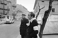 - Savona, novembre 1975, ronde di quartiere per sorveglianza contro l'ondata di attentati di matrice fascista che insanguinò la città fra il 1974 ed il 1975<br /> <br /> - Savona, in November 1975, neighborhood patrols to surveillance against the wave of fascist matrix attacks that bloodied the city between 1974 and 1975