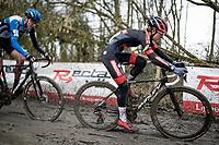 Denise Betsema (NED/Pauwels Sauzen-Bingoal)<br /> <br /> 2021 Flandriencross Hamme (BEL)<br /> women's race<br /> <br /> ©kramon
