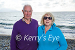 Enjoying a stroll in Banna on Thursday, l to r: Denis and Betty O'Connor.
