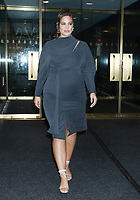 NEW YORK, NY- October 30: Ashley Graham at NBC'S Today Show to co-host it's 3rd hour on October 30, 2019 in New York City. Credit: RW/MediaPunch