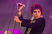 Greta Van Fleet performs at the Festival d'ete de Quebec (Quebec Summer Festival) on July 9, 2018.