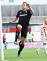11/09/2010   Copyright  Pic : James Stewart.sct_jsp005_hamilton_v_rangers  .:: NIKICA JELAVIC  CELEBRATES AFTER HE HEADS HOMES RANGERS' FIRST ::.James Stewart Photography 19 Carronlea Drive, Falkirk. FK2 8DN      Vat Reg No. 607 6932 25.Telephone      : +44 (0)1324 570291 .Mobile              : +44 (0)7721 416997.E-mail  :  jim@jspa.co.uk.If you require further information then contact Jim Stewart on any of the numbers above.........
