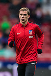 Antoine Griezmann of Atletico de Madrid in training prior to the La Liga 2017-18 match between Atletico de Madrid and Getafe CF at Wanda Metropolitano on January 06 2018 in Madrid, Spain. Photo by Diego Gonzalez / Power Sport Images