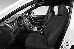 Front seat view of 2021 Toyota RAV4-Prime SE 5 Door SUV Front Seat  car photos