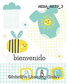 Dreams, BABIES, BÉBÉS, paintings+++++,MEDABB39/3,#B#, EVERYDAY