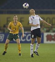 Norway midfielder (8) Solveig Gulbrandsen. Norway tied Australia 1-1 in their FIFA Women's World Cup China 2007 Group C opening round match at Hangzhou Dragon Stadium in Hangzhou, China on September 15, 2007.