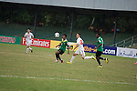 HTTU Asgabat vs Sri Lanka Air Force during the 2014 AFC President's Cup Final Stage Group A match on September 24, 2014 at the Sugathadasa Stadium in Colombo, Sri Lanka. Photo by World Sport Group