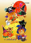 GIORDANO, CUTE ANIMALS, LUSTIGE TIERE, ANIMALITOS DIVERTIDOS, Halloween, paintings+++++,USGI2055MM,#AC#