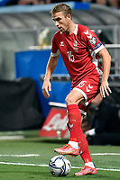 Vaidas Slavickas of Lithuania in action during the Qatar 2022 world cup qualifying football match between Italy and Lithuania at Citta del tricolore stadium in Reggio Emilia (Italy), September 8th, 2021. Photo Andrea Staccioli / Insidefoto