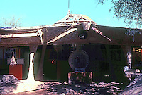Paolo Soleri: Cosanti Foundation, Scottsdale, AZ. Sculptural form. Photo '77.