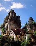 Deutschland, Bayern, Franken, Tuechersfeld: Fraenkische Schweiz Museum   Germany, Bavaria, Upper Bavaria, Franconia, Tuechersfeld: Franconian Switzerland Museum