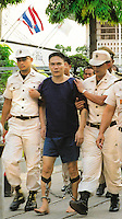Drug smuggler, Lee Yuang Kwan, from Hong Kong who was executed April 2001 by Chawalate Jarubun of Bangkwang Central prison.