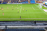 Oxford United 1 Accrington Stanley 2, 20/02/2016. Kassam Stadium, League Two. Oxford's home ground is the Kassam Stadium in Oxford and has a capacity of 12,500. United moved to the stadium in 2001 after leaving the Manor Ground, their home for 76 years. View from the Accrington supporters in the North Stand. Photo by Simon Gill.