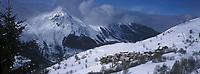 Europe/France/Rhone-Alpes/73/Savoie/Saint-Martin-de-Belleville: Hameau de béranger