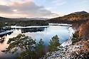 Loch Beinn a' Mheadhoin, Glen Affric, Scotland, UK, November.