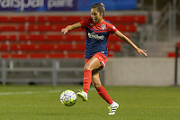 Chicago, IL - Saturday Sept. 24, 2016: Caprice Dydasco during a regular season National Women's Soccer League (NWSL) match between the Chicago Red Stars and the Washington Spirit at Toyota Park.