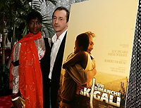 April 3rd 2006, Montreal (QC) CANADA<br /> Fatou N'Diaye (L) Luc Picard (R) Premiere Un Dimanche a Kigali<br /> Photo : (c) 2006 Pierre Roussel / Images Distribution