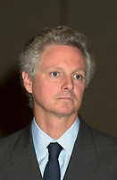 June 28, 2002, Montreal, Quebec, CANADA<br /> <br /> Paul Desmarais Jr, Co-CEO, Power Corp, at<br /> the closing lunch of the 8 th Conference of Montreal, June 26, 2002 in Montreal, CANADA<br /> <br /> Mandatory credit : Photo by Pierre Roussel - Images Distribution<br /> (c) : 2002,Pierre Roussel