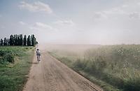 Jerome Baugnies (BEL/Wanty-Groupe Gobert) moving through the dust<br /> <br /> 92nd Schaal Sels 2017 <br /> 1 Day Race: Merksem > Merksem (188km)