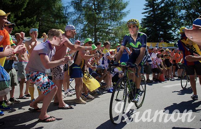 experiencing the craziness at the Dutch Corner (nr7) up Alpe d'Huez<br /> <br /> stage 20: Modane Valfréjus - Alpe d'Huez (111km)<br /> 2015 Tour de France