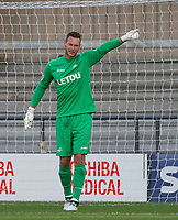 Goalkeeper Erwin Mulder of Swansea City during the 2017/18 Pre Season Friendly match between Barnet and Swansea City at The Hive, London, England on 12 July 2017. Photo by Andy Rowland.