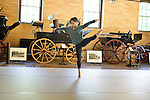 Ballet Hispanico rehearsing during a retreat at the Rockefeller Brothers Fund's Pocantico Center near Tarrytown.