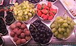 Fruit Assortment, Noura Shop, L'Etoile, Paris, France, Europe