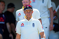 England captain Joe Root during day one of the international cricket 1st test match between NZ Black Caps and England at Bay Oval in Mount Maunganui, New Zealand on Thursday, 21 November 2019. Photo: Dave Lintott / lintottphoto.co.nz