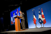 Montreal, July 4, 2008, Visit of French Premier François Fillon, French Chamber of Commerce Conference in Canada luncheon <br /> PHOTO :  Agence Quebec presse