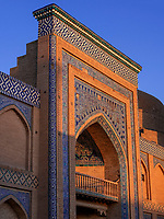 Medrese Islam Khodja, Xiva, Usbekistan, Asien, UNESCO-Weltkulturerbe<br /> Madrasa Islam Khodja, historic city Ichan Qala, Chiwa, Uzbekistan, Asia, UNESCO heritage site