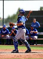 Travis Jones / Kansas City Royals 2008 Instructional League..Photo by:  Bill Mitchell/Four Seam Images