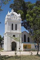 """Afrique/Afrique de l'Est/Tanzanie/Bagamoyo: les batiments de la Mission """"Holy Gost"""" Saint Esprit et l'église dédiée à Livingstone"""