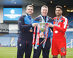 Cammy Bell, Jim Stewart and Wes Foderingham