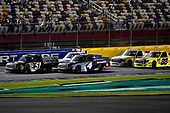 NASCAR Camping World Truck Series<br /> North Carolina Education Lottery 200<br /> Charlotte Motor Speedway, Concord, NC USA<br /> Friday 19 May 2017<br /> Kyle Busch, Cessna Toyota Tundra and Christopher Bell, SiriusXM Toyota Tundra<br /> World Copyright: Rusty Jarrett<br /> LAT Images<br /> ref: Digital Image 17CLT1rj_4105
